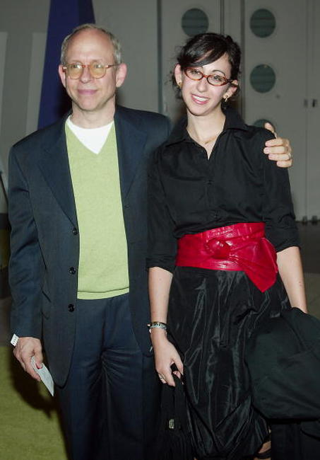 Bob Balaban and his daughter at the