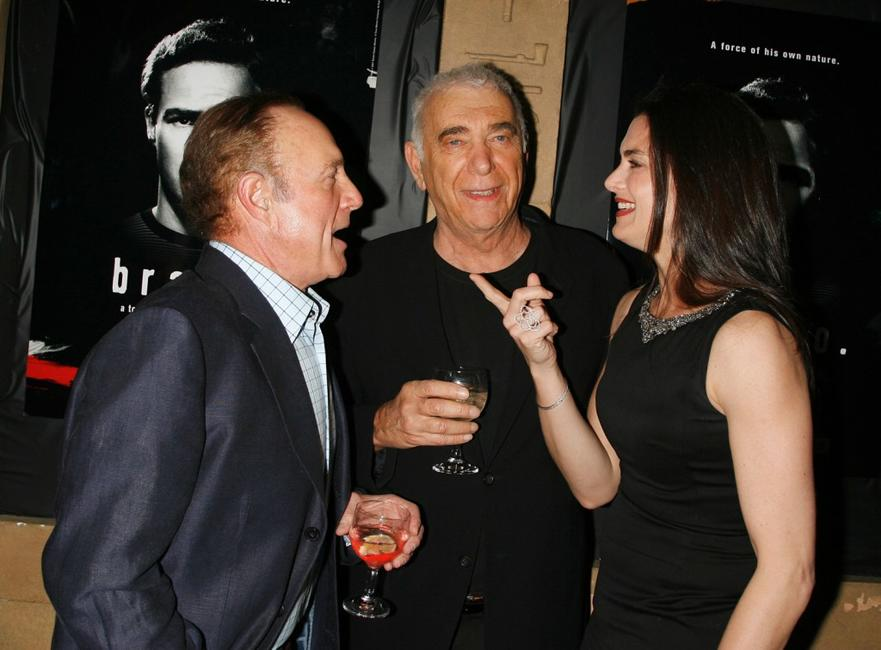 James Caan, Al Ruddy and Brooke Shields at the Egyptian Theater for premiere screening of Turner Classic Movies