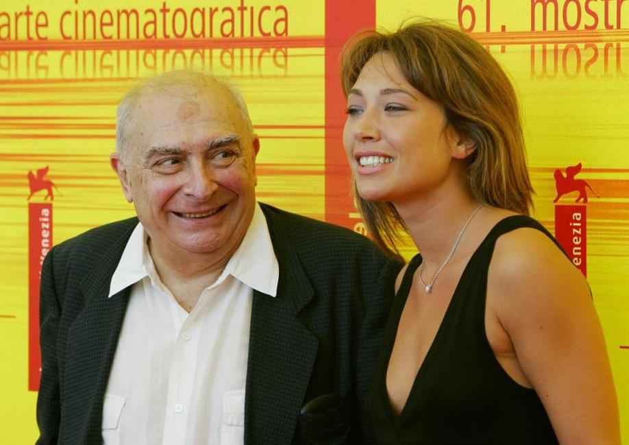 Claude Chabrol and Laura Smet for the photocall at Venice Lido 7.