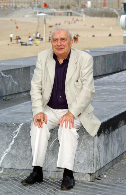 Claude Chabrol at the 52nd San Sebastian International Film Festival for the photocall of
