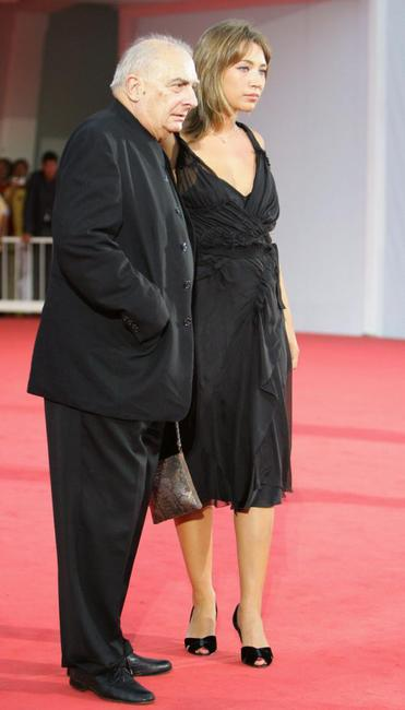 Claude Chabrol and Laura Smet at the 61st Venice International Film Festival for the premiere of