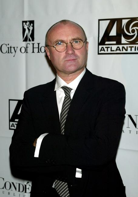 Phil Collins at the City of Hope Gala.
