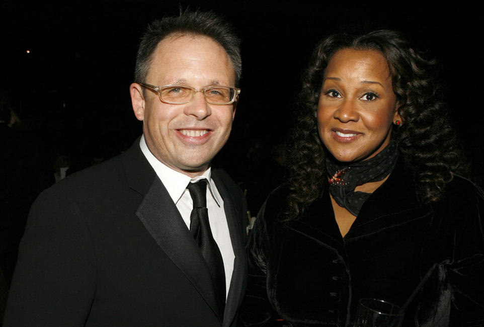 Bill Condon and costume designer Sharen Davis at the 59th Annual DGA Awards in California.