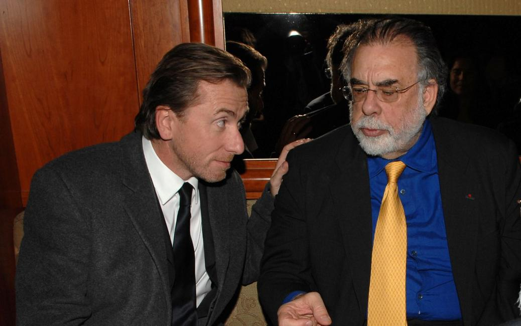 Francis Ford Coppola and Tim Roth at the California premiere of