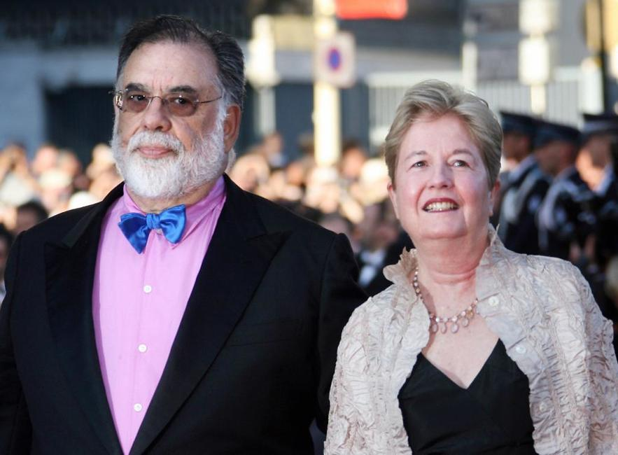 Francis Ford Coppola and his wife Eleanor at the 59th International Cannes Film Festival.