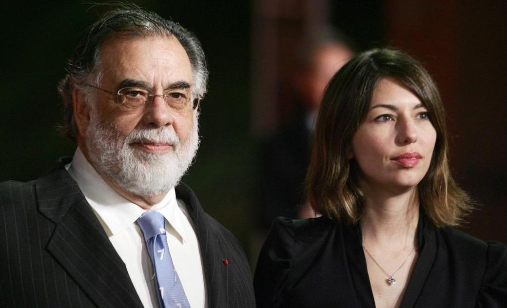 Francis Ford Coppola and his daughter Sofia at the second annual RomeFilmFest for the screening of