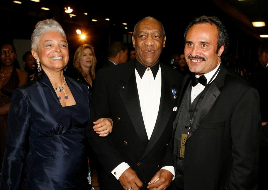 Bill Cosby, Camille O. Cosby and Vicangelo Bulluck at 38th annual NAACP Image Awards.