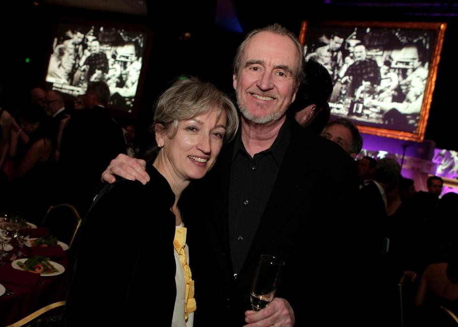 Wes Craven and guest at the 60th annual DGA Awards.