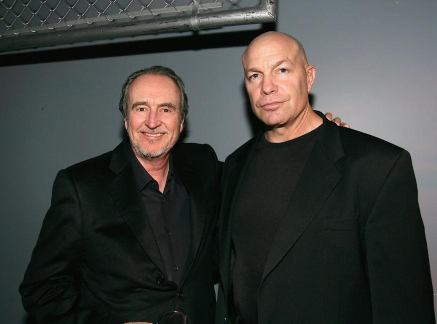 Wes Craven and Michael Bailey Smith at the after party for the premiere of