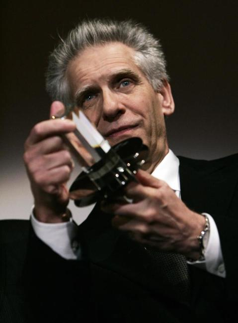 David Cronenberg at the Hamburg Film Festival.