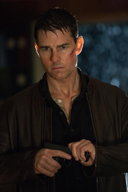 Tom Cruise as Reacher in