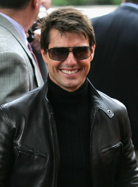 "Tom Cruise at the premiere of ""Mission: Impossible III"" during the 5th Annual Tribeca Film Festival in New York City."