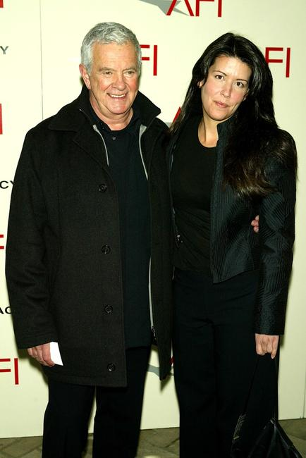 Mark Damon and Director Patty Jenkins at the AFI's 2003 Awards Luncheon honoring Film and Television creative teams.