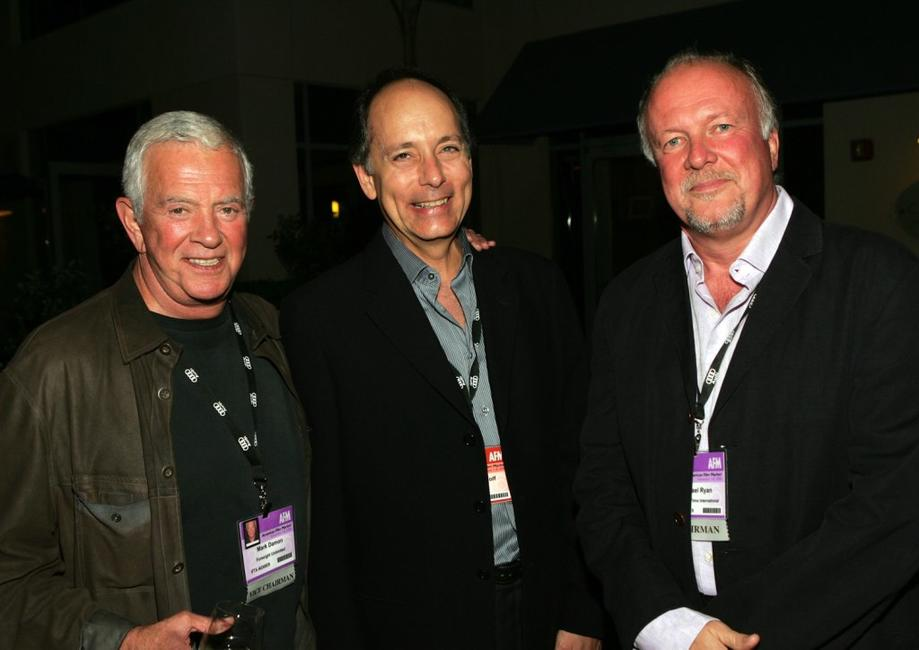 Mark Damon, Jonathan Wolf and Michael Ryan at the IFTA members reception.
