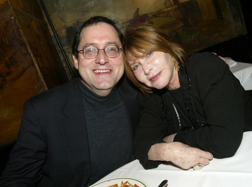 Lee Grant and Michael Barker at the after party for the screening of
