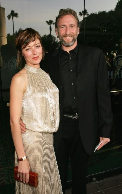 Mia Sara and Producer Brian Henson at the 31st Annual Saturn Awards.