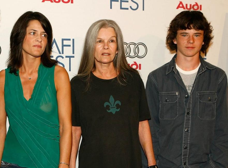 Hathalee Higgs, Genevieve Bujold and Charlie McDermott at the screening of