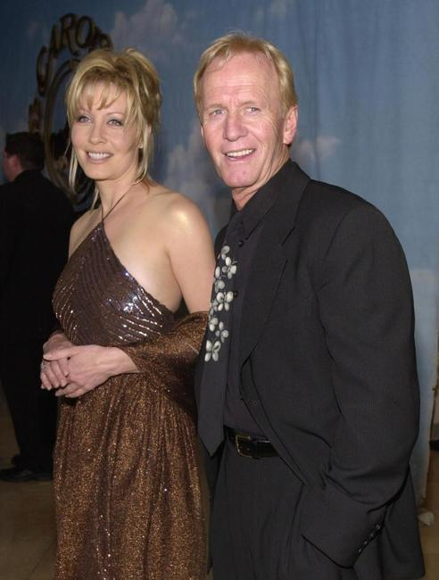 Linda and Paul Hogan at the Carousel of Hope Ball benefiting the Barbara Davis Center for Childhood Diabetes.