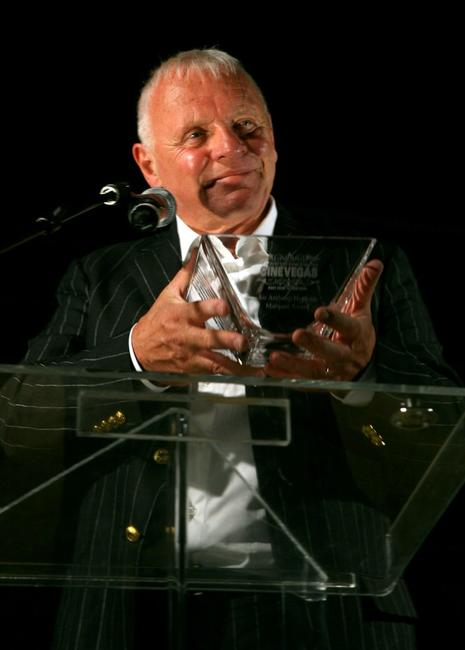 Anthony Hopkins at the 2007 CineVegas film festival awards.