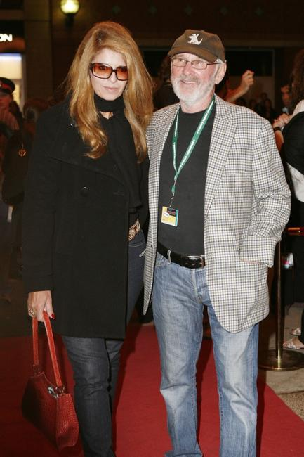 Norman Jewison and Lynne St-David at the