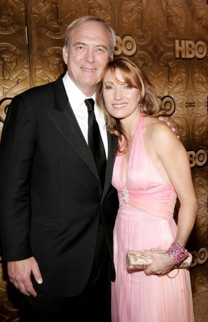 James Keach and Jane Seymour at the HBO Golden Globe After Party.