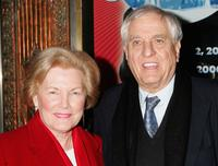 Garry Marshall and Barbara at the Pantages Theatre for the opening night performance of Irving Berlins