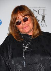 Penny Marshall at the Hyatt Regency Century Plaza Hotel for the 14th Annual Race To Erase MS Dance to Erase MS-themed gala.