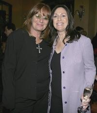 Penny Marshall and Janice Goldfinger at the after party for the opening night of Billy Crystals