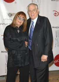 Penny Marshall and her brother Garry Marshall at the 7th Annual Wish Night.