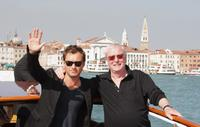 Michael Caine and Jude Law at the 64th Annual Venice Film Festival.