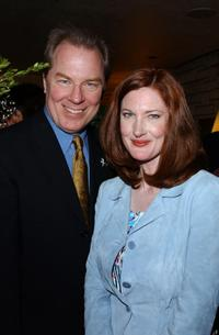 Michael McKean and Annette O'Toole at the champagne reception honoring the Academy Award Music Nominees.