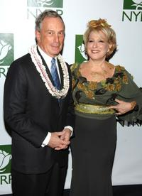 Bette Midler and Michael Bloomberg at the 12th Annual NYRP