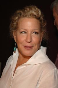 Bette Midler performs at the Olympus Fashion Week.