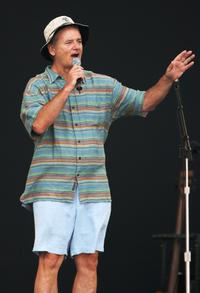 Bill Murray at the Crossroads Guitar Festival 2007.