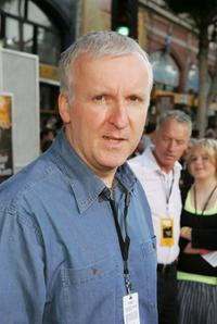 James Cameron at the premiere of Disney's