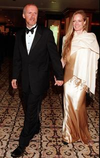 James Cameron and his partner Suzy Amis at the Directors Guild of America's 51st Annual Awards Dinner.