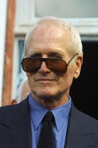 Paul Newman at the inauguration of Henri Tezenas du Montcel centre.
