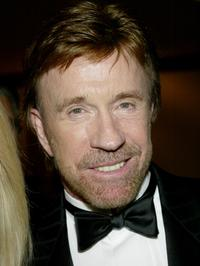 Chuck Norris at the Los Angeles Police Department Protective League's Eagle & Badge Foundation and the Tichi Wilkerson Kassel Parkinson's Foundation Gala.