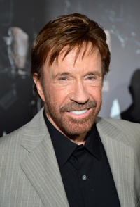 Chuck Norris at the California premiere of