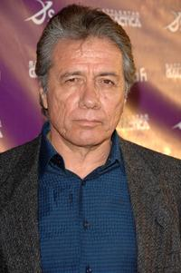 Edward James Olmos at the season four party of
