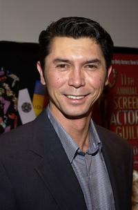 Lou Diamond Phillips at the unveiling of the 11th Annual Screen Actors Guild Awards.