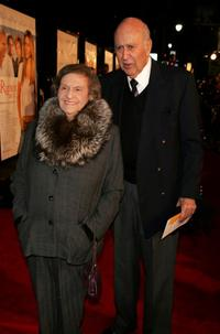 Carl Reiner and wife Estelle Reiner at the California premiere of