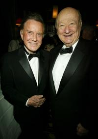 Cliff Robertson and Ed Koch at the AMPAS Official Oscar Night Celebration.