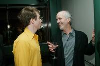 Alan Rudolph and Sam Rockwell at the VIP screening of