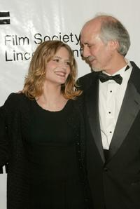 Alan Rudolph and Jennifer Jason Leigh at the 3rd Annual Young Friends of Film Honors.