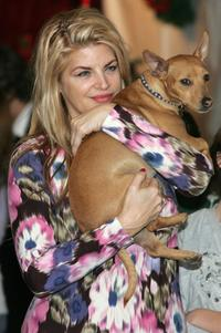 Kirstie Alley at the Church of Scientology's Christmas Stories XIV