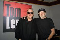 Tom Leykis and George Carlin at the Tom Leykis Show.