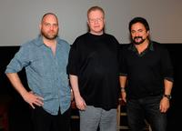 Robert Kurtzman, Greg Cannom and Tom Savini at the Fangoria Trinity of Terrors Festival.
