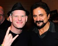 Corey Taylor and Tom Savini at the Fangoria Trinity of Terrors Festival.