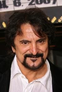 Tom Savini at the premiere of Grindhouse at the Orpheum Theatre.